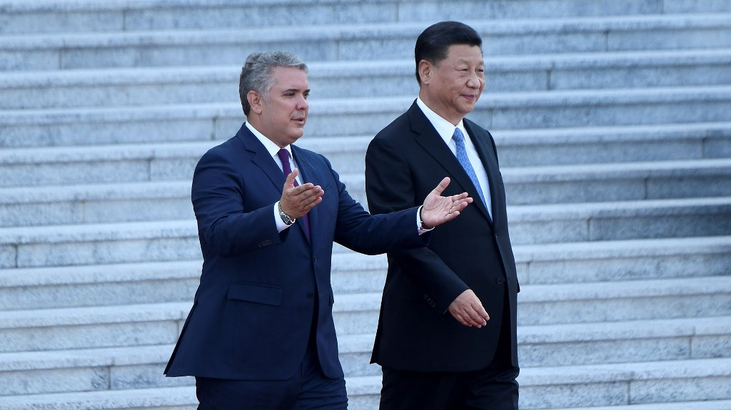 CHINA-COLOMBIA-DIPLOMACY