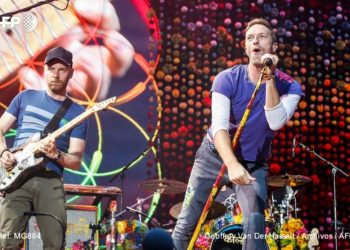 Coldplay. Foto AFP