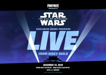 Star Wars The Rise of Skywalker. Foto Fortnite (Twitter)