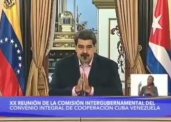 Nicolás Maduro. Foto captura de video.