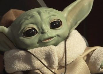 Baby Yoda. Foto captura de video.
