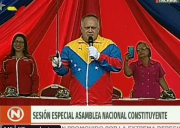 Diosdado Cabello. Foto captura de video.