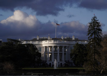 The White House is seen after Special Counsel Robert Mueller handed in his report to Attorney General William Barr on his investigation into Russia's role in the 2016 presidential election and any potential wrongdoing by U.S. President Donald Trump in Washington, U.S., March 22, 2019. REUTERS/Joshua Roberts