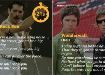 Queen & Oasis. Foto collage Alberto News