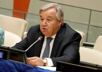 El secretario general de la ONU, Antonio Guterres. EFE/PETER FOLEY/Archivo