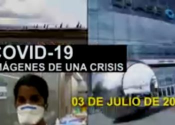 Coronavirus. 3julio2020. Foto captura de video EFE.