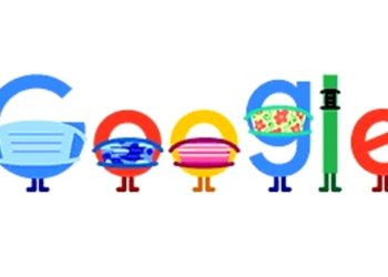 Google Doodle. 5Ago2020. Foto caprtura de video.