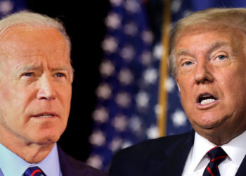 Joe Biden y Donald Trump. Foto de archivo.