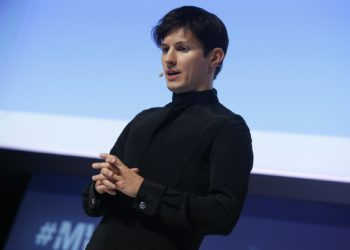 Founder and CEO of Telegram Pavel Durov delivers a keynote speech during the Mobile World Congress in Barcelona, Spain February 23, 2016. REUTERS/Albert Gea - D1AESOQXTQAB