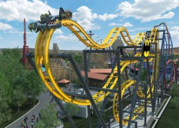 Vallejo's Six Flags Discovery Kingdom is opening a new 4D wing coaster, Batman: The Ride, next spring. (Six Flags)